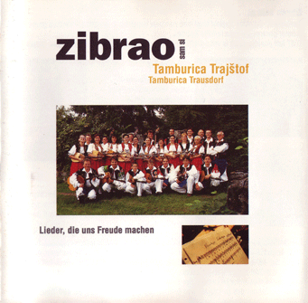 cd cover of zibrao sam si by tamburica trajstof